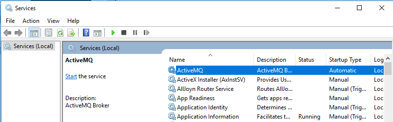 using Apache ActiveMQ – Mionzz